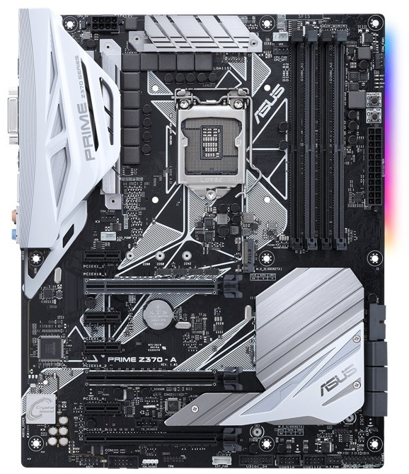 ASUS Prime Z370-A H4 LGA1151 DDR4 DP/HDMI/DVI/M.2 USB 3.1 Z370 ATX Retail