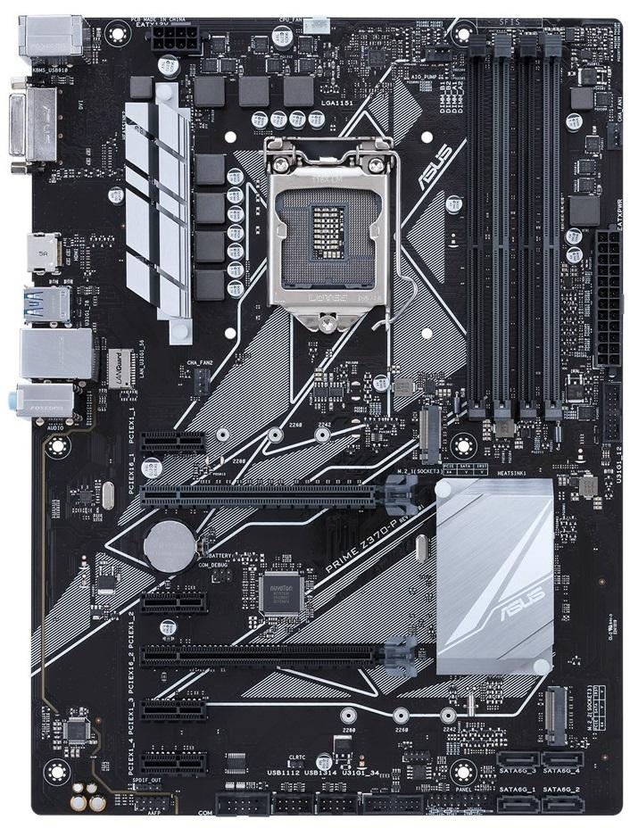 ASUS Prime Z370-P LGA1151 DDR4 HDMI/DVI/M.2 Z370 ATX Retail