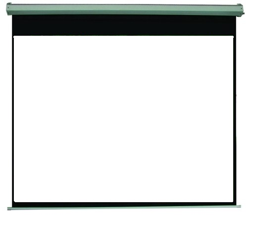 "Projector Screen Noiseless Motorized w/aviation plug; Size 100"" PM6302"