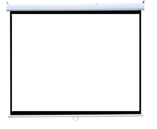 "Projector Screen Soft PVC Easy to use and assembly, Size:100"" PM6301"