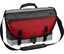 "TARGUS Carrying Brick Case (Messenger) for 16"" Notebook  Red Carrying Case TSM157CA"
