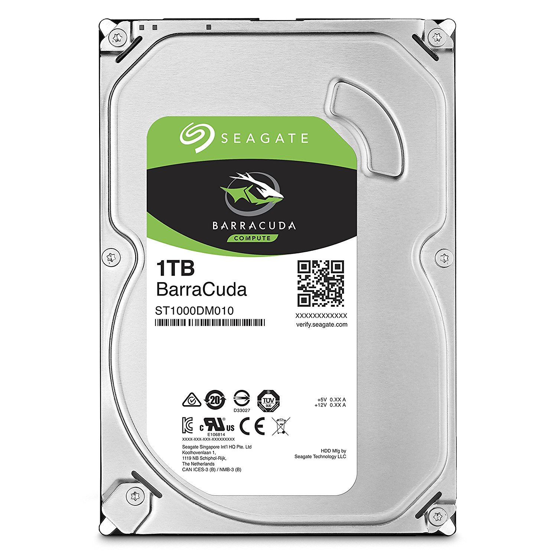 SEAGATE - OEM - ST1000DM010 1TB SATA III 6Gb/s 64MB 3.5inch BarraCuda Desktop Bare