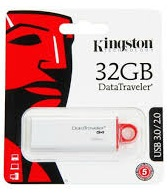 KINGSTON DataTraveler G4 DTIG4/32GB 32GB USB 3.0 FLASH MEMORY RETAIL