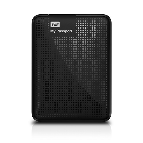 "WESTERN DIGITAL - RETAIL - My Passport 1TB 2.5"" USB3.0 External Hard Drive WDBBEP0010BBK-NESN"