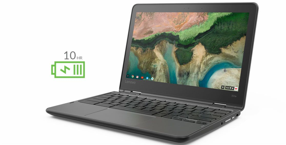 "Lenovo 81H00000US 300E Yoga 11.6"" IPS Touch Display MTK 8173C 4GB 32GB Chromebook OS Retail"