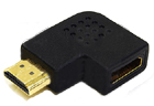 HDMI MALE TO HDMI FEMALE VERTICAL RIGHT ANGLE 270 DEGREE ADAPTOR VA-HMHFU