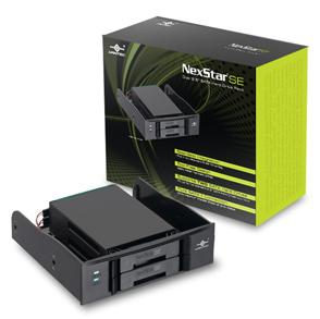 VANTEC NexStar SE MRK-525ST Dual 2.5 SATA Hard Drive Rack (Removable HD/SSD Trays) Hot-Pluggable