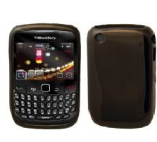 Libratel Black Blackberry Curve Gel Skin 43687M