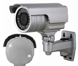 "Weatherproof IR Camera Color 1/4"" SEQ5401"