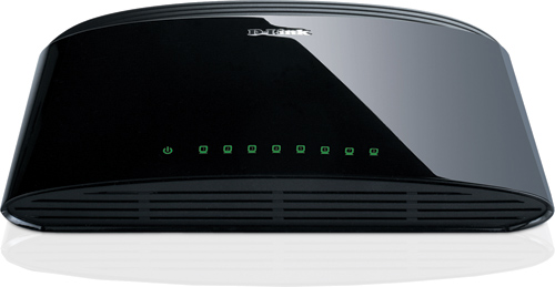 DLINK 8 PORT 10 /100 UNMANAGED DESKTOP SWITCH DES-1008E