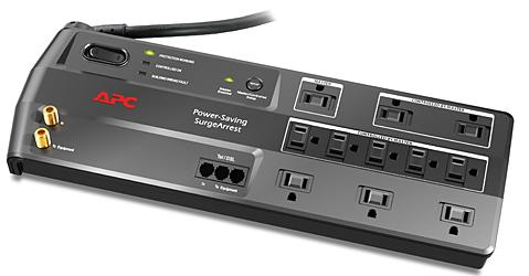 APC P11GTV SurgeArrest Performance 11-Outlets Surge Suppressor