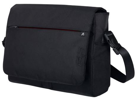 "ASUS STREAMLINE MESSENGER BAG FOR UP TO 16"" NOTEBOOK,BLACK AP-9XB1IBG10B"