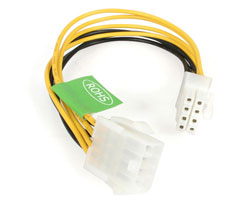 "STARTECH 8"" EPS 8-PIN POWER EXTENSION CABLE M/F EPS8EXT"