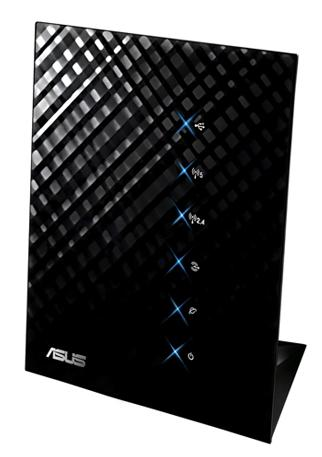 Asus Wireless   RT-N56U Dual Band 4 x Port Gigabit Router 802.11n 300Mbps LAN Retail Box