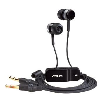 ASUS HS-101 BLACK HEADSET, NOISE FILTERING IN-LINE Retail Box