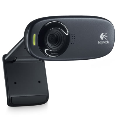 LOGITECH C310 Webcam - USB 2.0 1280 x 720 Video 960-000622 / 960-000585