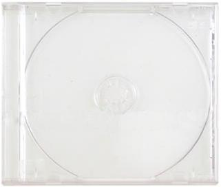 CD Jewel Case - SINGLE CLEAR (10-PK) (REGULAR)