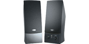 CYBER ACOUSTICS SPEAKERS BLACK 2-PIECE DESKTOP SPEAKER SYSTEM CA-2014RB-ML