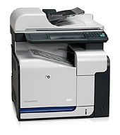 HEWLETT PACKARD COLOR LASERJET CM3530FS MFP PRINTER W/ FAX CC520A#B1H