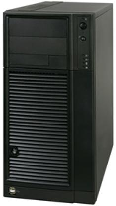 INTEL SC5650WSNA SERVER PEDESTAL (6U) CHASSIS BLACK W/ 1000 W high-efficiency PFC Power Supply