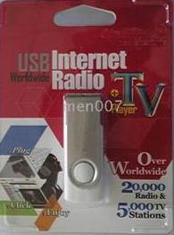 USB Internet Radio/TV Player (Worldwise) Adapter  (90 days Warranty)