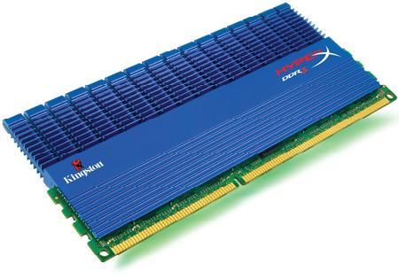 KINGSTON DDR3 HYPERX 6GB (3 x 2GB) KHX1600C9D3T1K3/6GX 1600MHZ NON-ECC CL9 DIMM