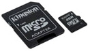 KINGSTON SDC10/16GB 16GB Class 10 MICRO SD SECURE DIGITAL MEMORY (SD adapter included) Retail Package