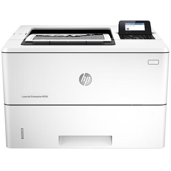 HP LaserJet Enterprise M506dn B/W Duplex, Laser, Leg, A4 1200x1200dpi 45 ppm 650 sheets USB, 1000Base-T F2A69A#BGJ