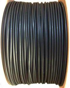 1000' CAT5e UTP Solid Network Cable Roll Black PW-507D