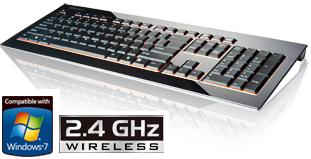 ENERMAX ACRYLUX KB009W-B WIRELESS KEYBOARD