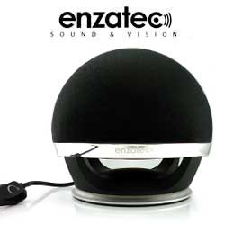 ENZATEC HARMONY DESIGN USB DEEP BASS 2.0 SPEAKER WITH BULIT-IN SUBWOOFER BLACK