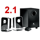 LOGITECH LS21 2PCS PC MULTIMEDIA SPEAKER SYSTEM 980-000058
