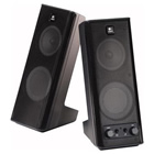 LOGITECH  X140 2PCS PC SPEAKER BLACK 970264-0403
