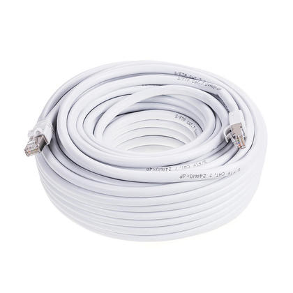 GENERIC GPC-CAT7-75WH 75ft White Cat7 S/STP Screened Shielded Twist Pairing Upto 10 Gigabit Network Cable