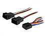 STARTECH 12IN 4-PIN FAN POWER SPLITTER CABLE 1-F / 2-MM