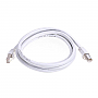 GENERIC GPC-CAT7-6WH 6ft White Cat7 S/STP Screened Shielded Twist Pairing Upto 10 Gigabit Network Cable