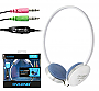 OVLENG STEREO HEADPHONES WITH MIC OV-L8026MV WHITE
