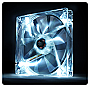 Thermaltake Pure 14 LED White 140mm High performance enduring case fan Retail 	CL-F028-PL14WT-A