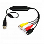 STARTECH USB S-VIDEO &amp; COMPOSITE AUDIO VIDEO CAPTURE CABLE SVID2USB23