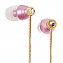G-CUBE CRYSTAL BEATS EARPHONE PINK