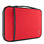 "BELKIN Carrying Case (Sleeve) for 11"" Netbook Red Color Neopro exterior with cushy fleece interior B2B081-C02"