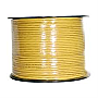 1000' CAT5e UTP Solid Network Cable Roll Yellow PW-507Y
