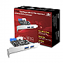 VANTEC UGT-PC345 4-Port SuperSpeed USB 3.0 PCIe Host Card with Internal 20-Pin Retail