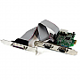 StarTech 2S1P Native PCI-Express Parallel Serial Combo Card with 1655 Retail PEX2S5531P