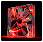 Thermaltake Pure 14 LED Red 140mm High performance enduring case fan Retail CL-F027-PL14RE-A