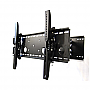 "Wall Mount Rack Tilt & Swivel: For 32"" - 60""  Double Arms Extended MS-3260T"