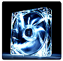 Thermaltake Pure 12 LED White 120mm High performance enduring case fan Retail 	CL-F020-PL12WT-A