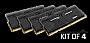 KINGSTON HyperX Predator (T2) NON-ECC DDR4 HX428C14PBK4/32 32GB 2800MHZ Unbuffered Retail