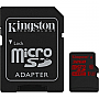 KINGSTON SDCA3/32GB microSDXC 32GB Class 10/UHS-I R90MBps/W80MBps DIGITAL MEMORY (SD adapter included) Retail Package