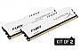 KINGSTON HYPERX FURY White DDR3 NON-ECC HX318C10FWK2/16 16GB 1866MHz  CL10 DIMM (Kit of 2)